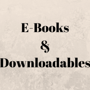 E-Books and Downloadables